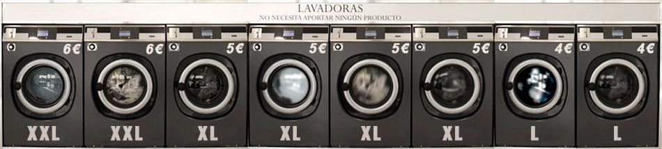 8 lavadoras
