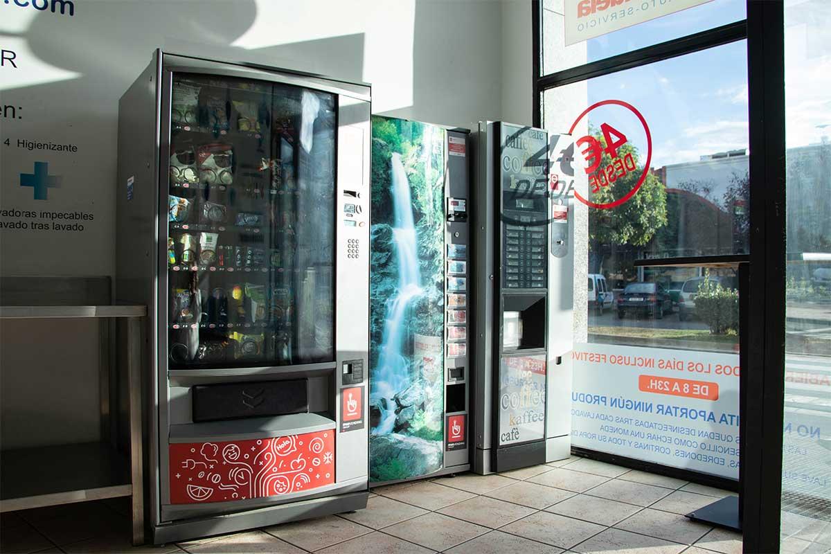 Máquinas de vending y café